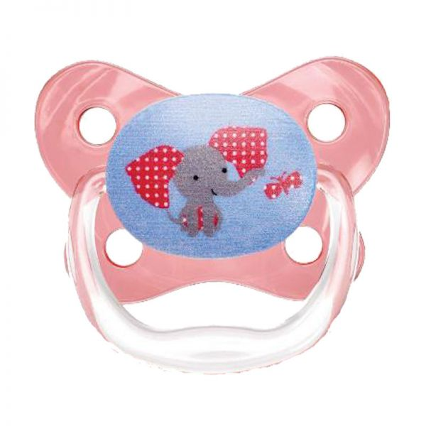 Dr Brown/'s Prevent Butterfly Soother Pink Stage 2-6-12M